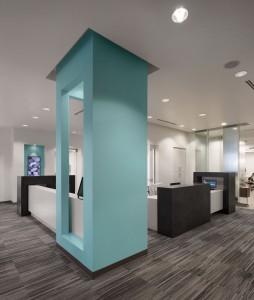 Advanced Orthodontics Reception Desk