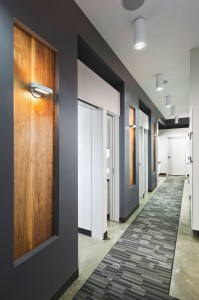 Corson Dentistry Hallway
