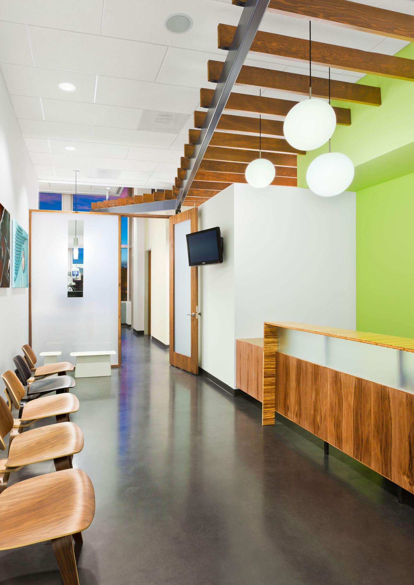 Endontics of Denver Waiting Area