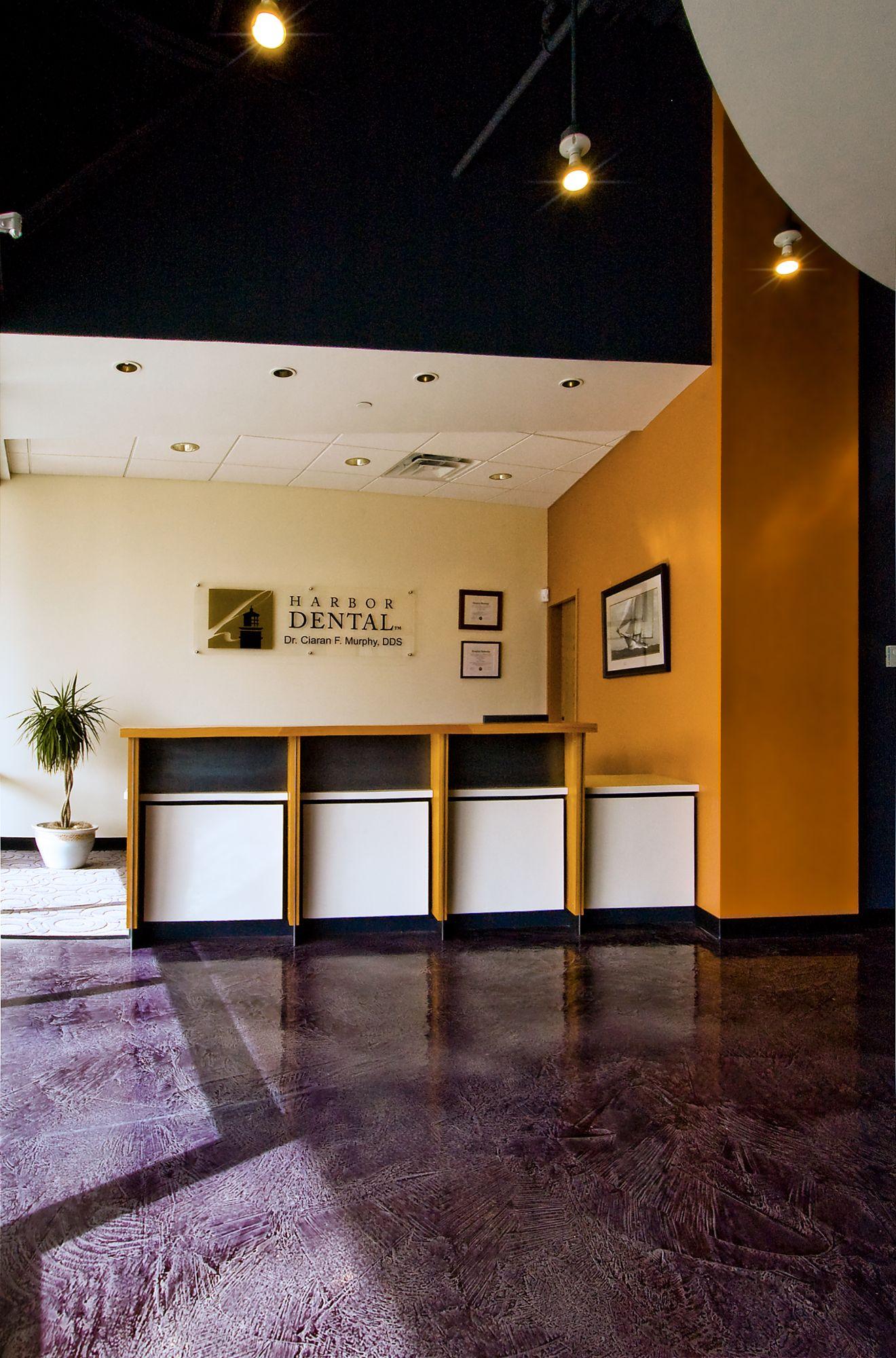Harbor Dental Reception