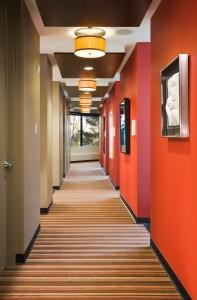 Link Dental Hallway