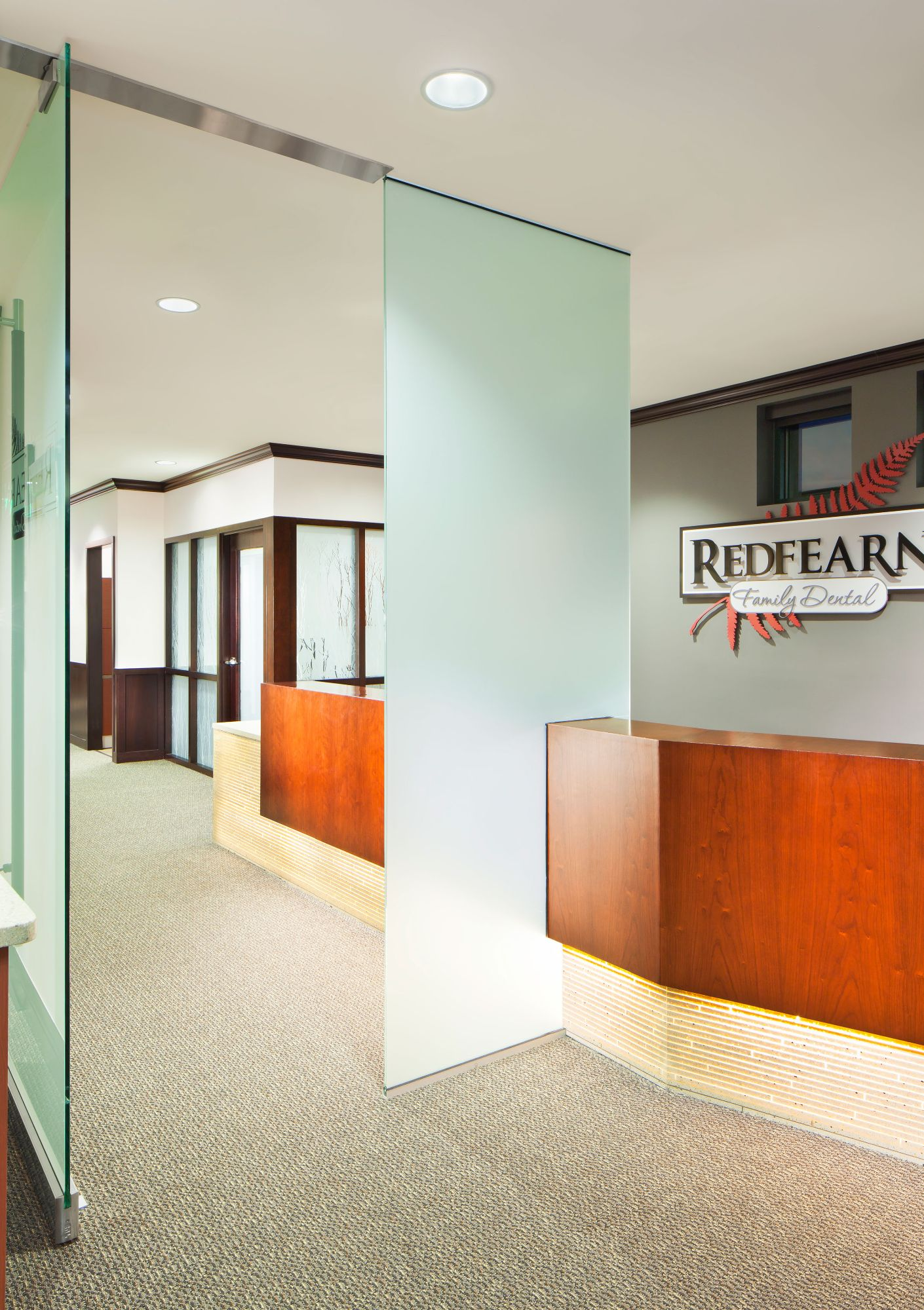 Redfearn Dental Reception