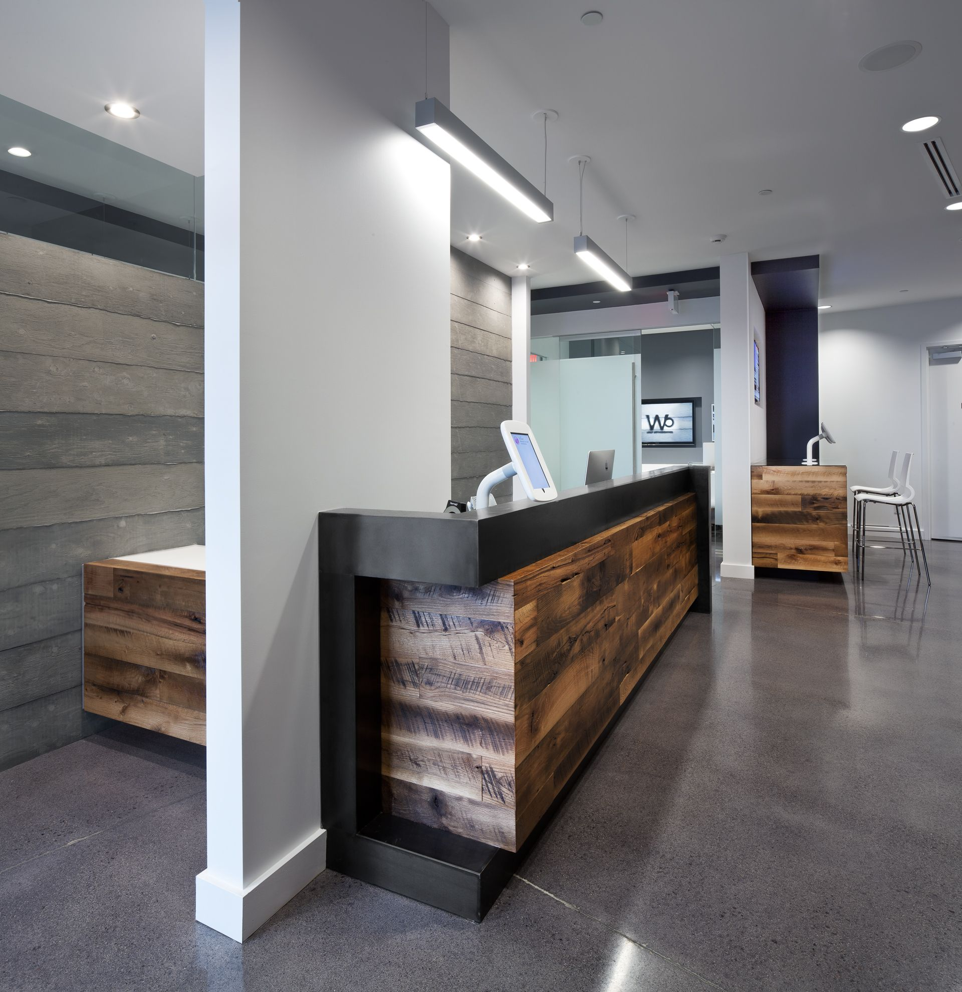 Walt Ortho Reception Area
